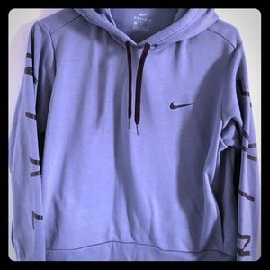 Sweaters - Nike sweater hoodie light blue